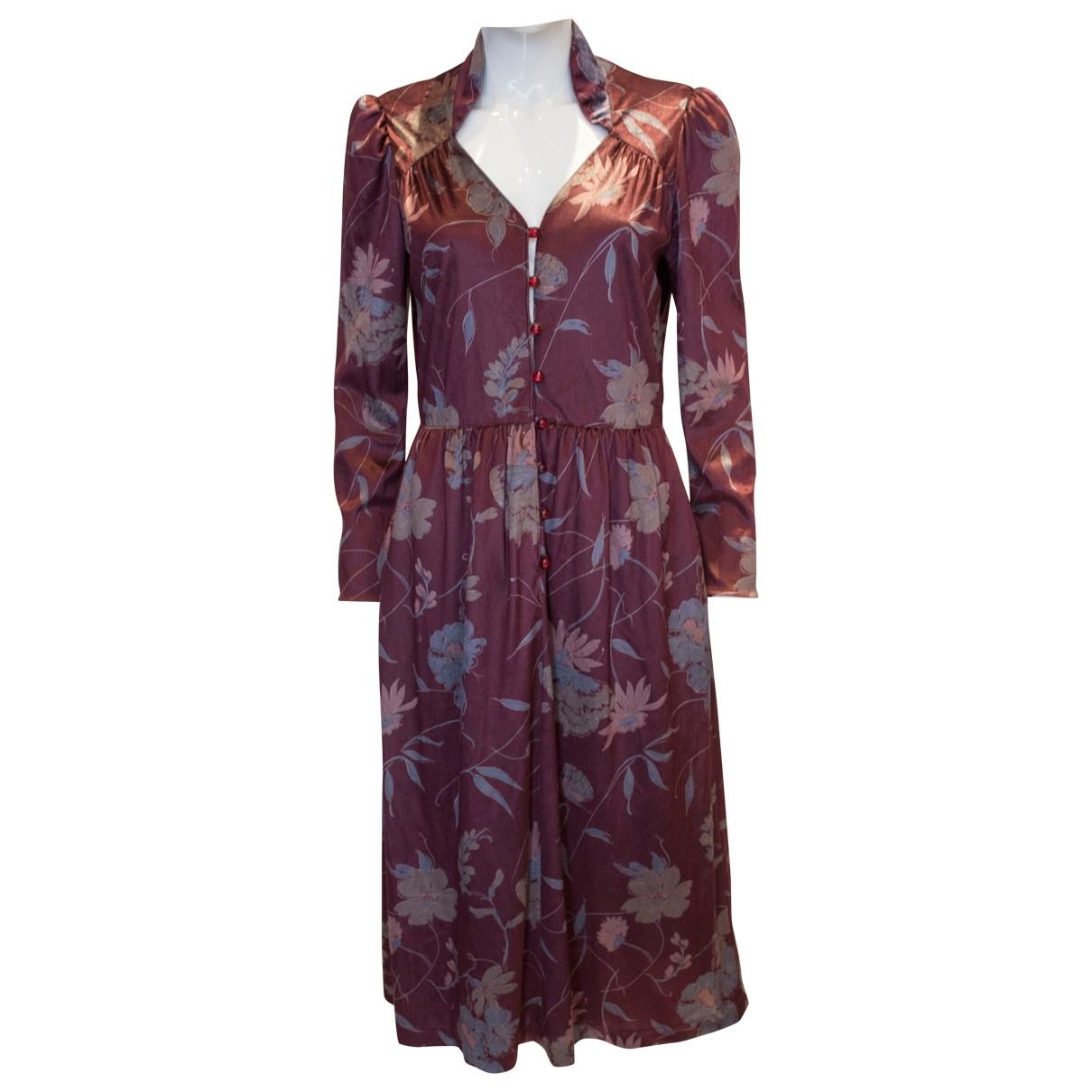 Non Signé / Unsigned \N Pink Velvet dress for Women S International