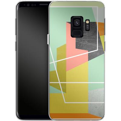 Samsung Galaxy S9 Silikon Handyhuelle - Color Block II von Susana Paz