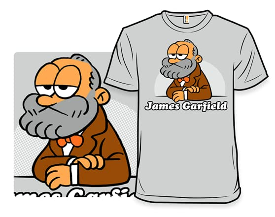 James Garfield T Shirt