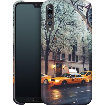 Huawei P20 Pro Smartphone Huelle - NYC Yellow Cabs von Omid Scheybani