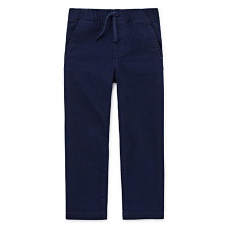 Okie Dokie Toddler Boys Skinny Pull-On Pants, 2t , Blue