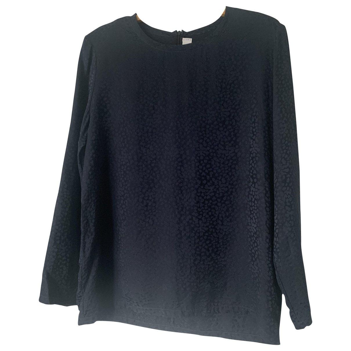 Givenchy - Top   pour femme en soie - marine