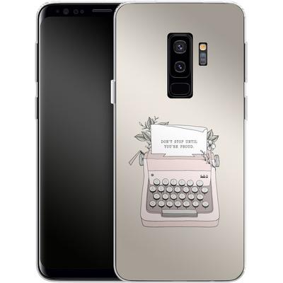 Samsung Galaxy S9 Plus Silikon Handyhuelle - Dont Stop von Barlena