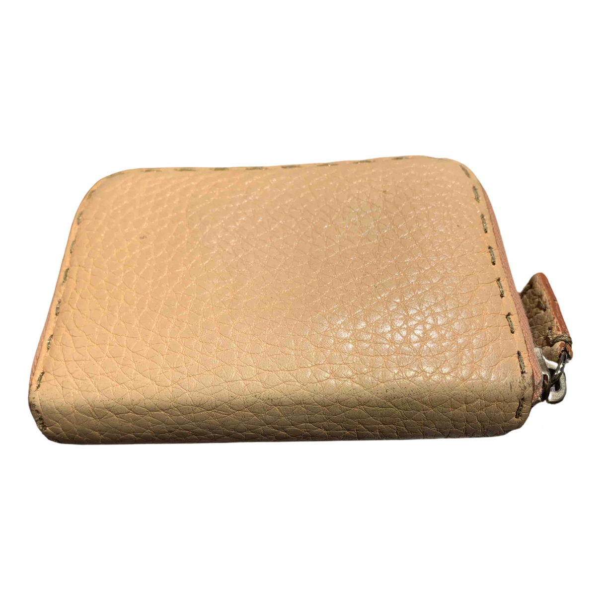 Fendi N Camel Leather wallet for Women N