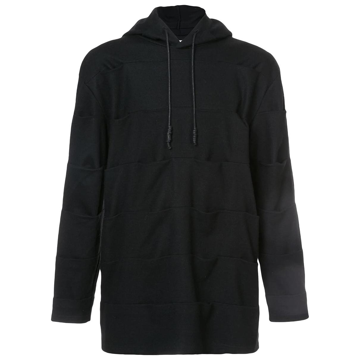 Autre Marque \N Pullover.Westen.Sweatshirts  in  Schwarz Wolle