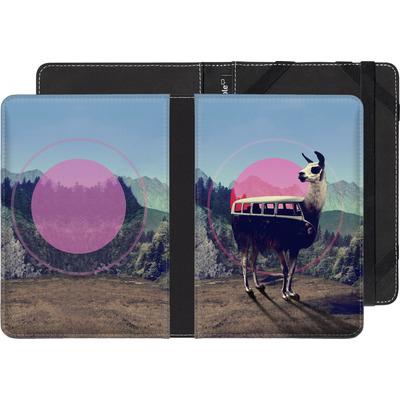 Kobo Glo eBook Reader Huelle - Llama von Ali Gulec
