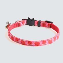 1 Stueck Katze Halsband mit Wassermelone Dekor
