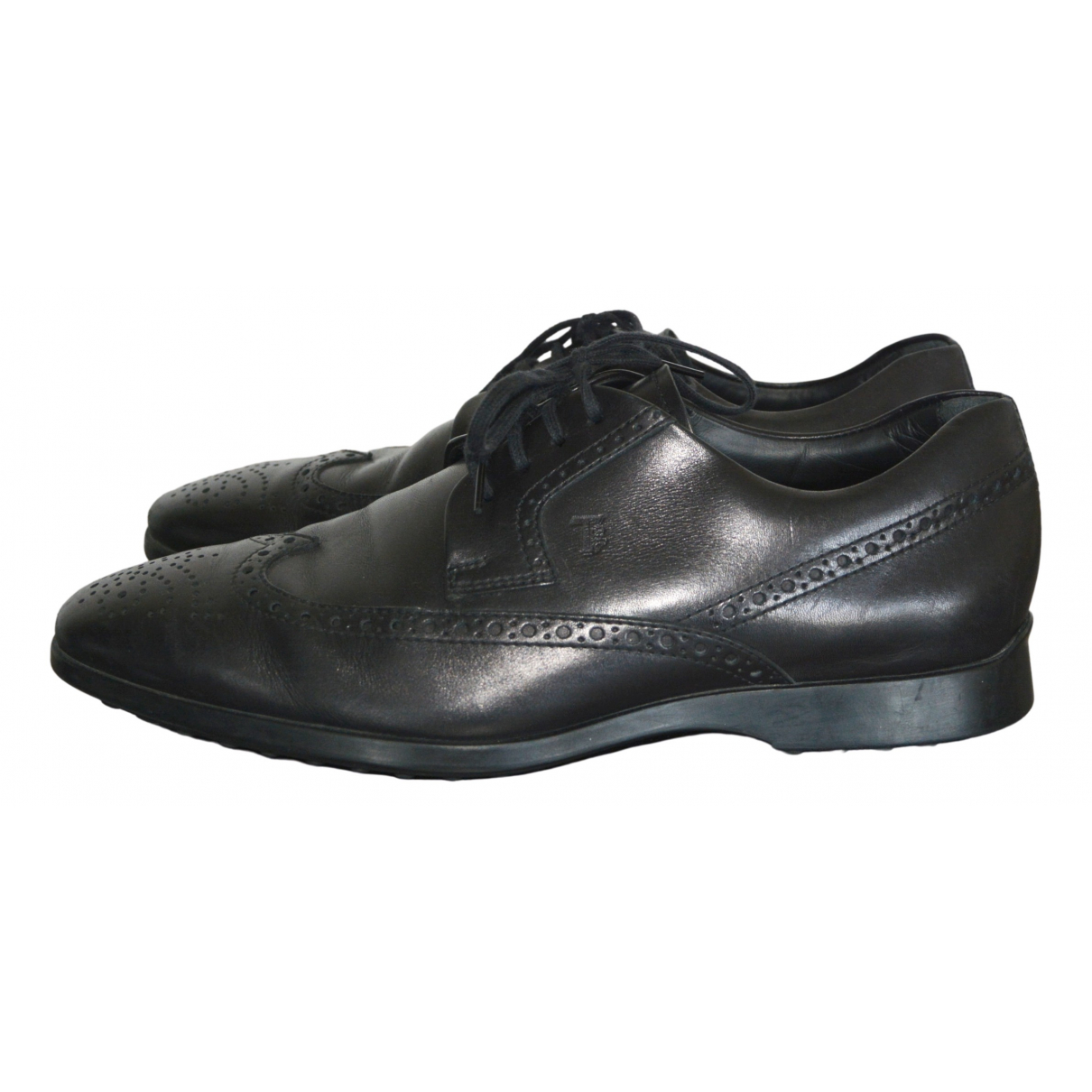 Tod's \N Black Leather Lace ups for Men 6 UK