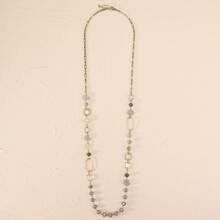 1 Stueck Halskette mit Perlen