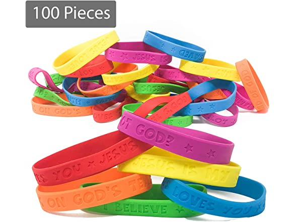 Podzly 100 Religious Sayings Bracelets