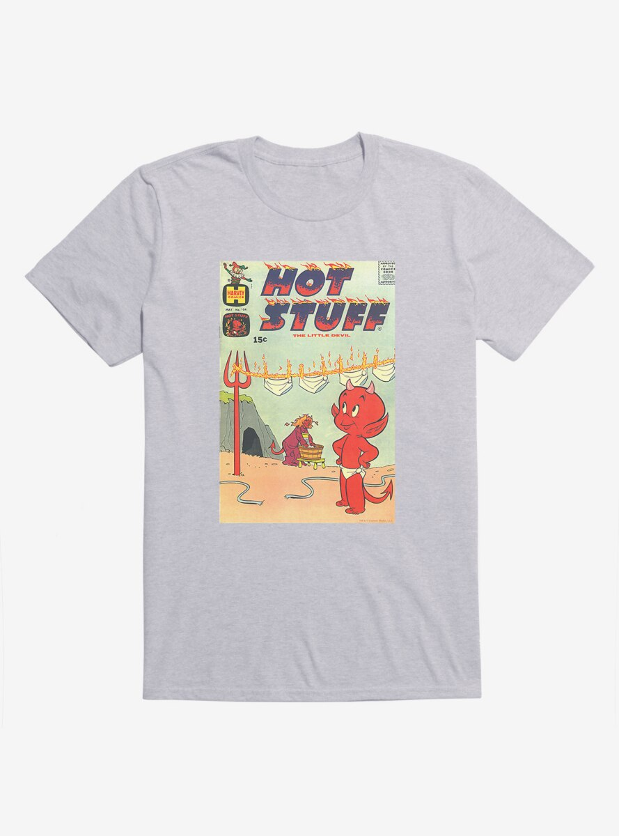 Hot Stuff The Little Devil Laundry Day Comic Cover T-Shirt