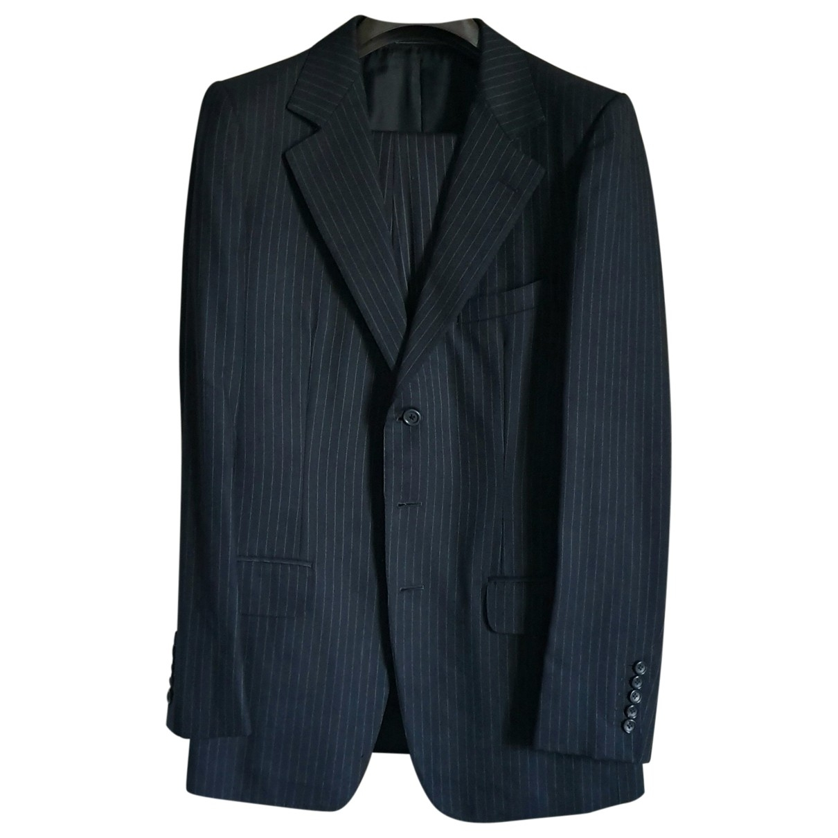Gucci \N Navy Wool Suits for Men 46 IT