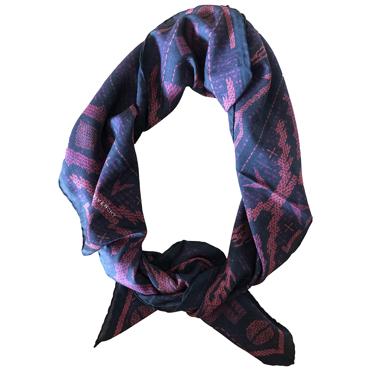 Givenchy N Purple Cashmere scarf for Women N