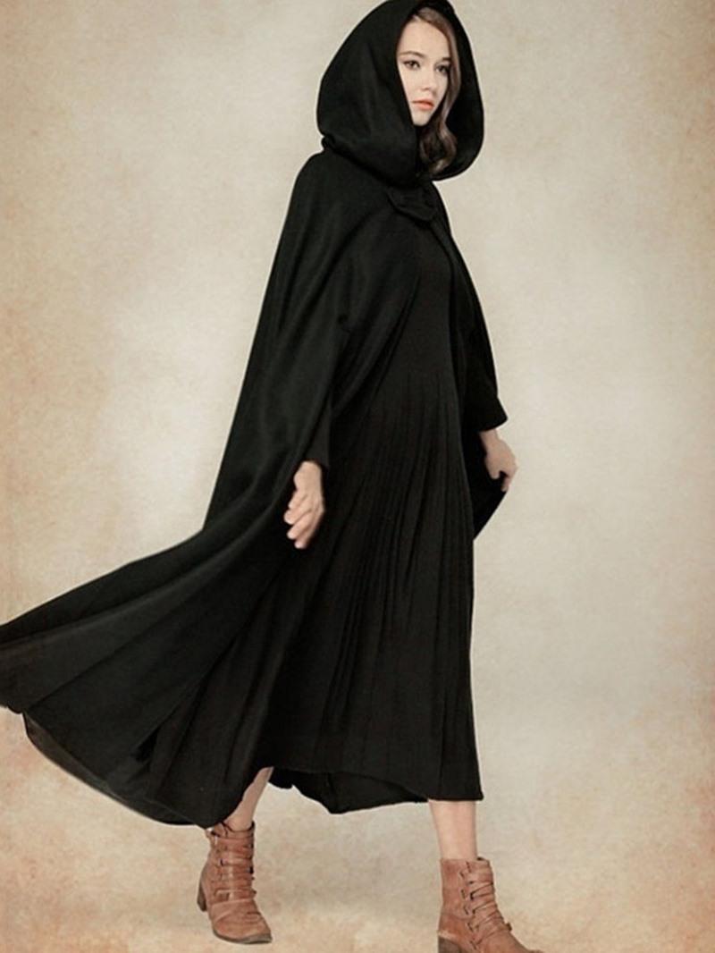 Ericdress Polyester Fashion Plain Fall Cape