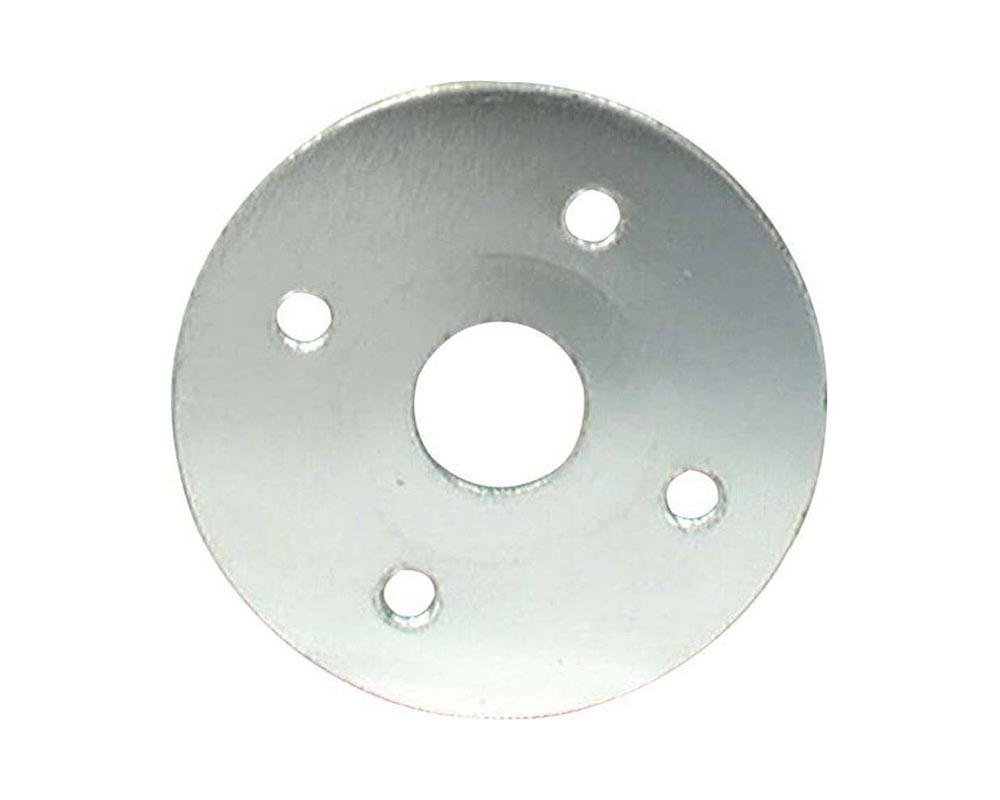 Allstar Performance ALL18519 Scuff Plate Aluminuminum 3/8in Hole 4pk ALL18519