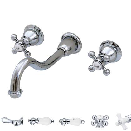 F4-0001-01-BX Water Creation F4-0001-01 Elegant Spout Wall Mount Vessel/Lavatory