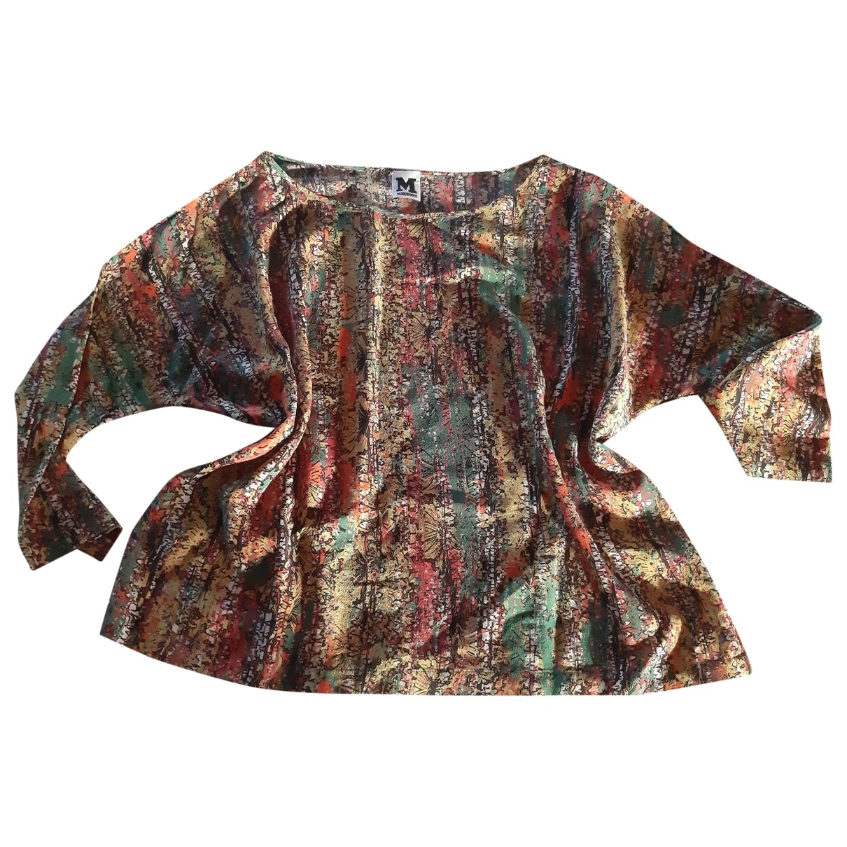 M Missoni \N Multicolour Silk  top for Women S International