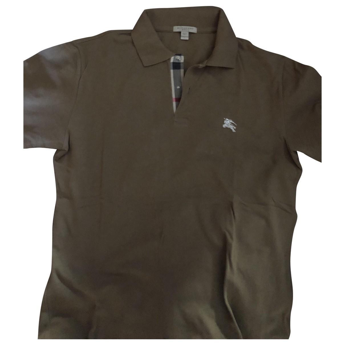 Burberry - Polos   pour homme en coton