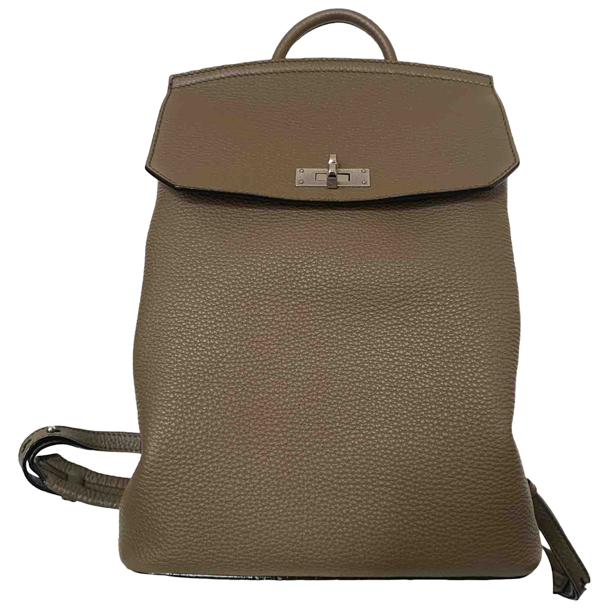 Bally \N Beige Leather backpack for Women \N