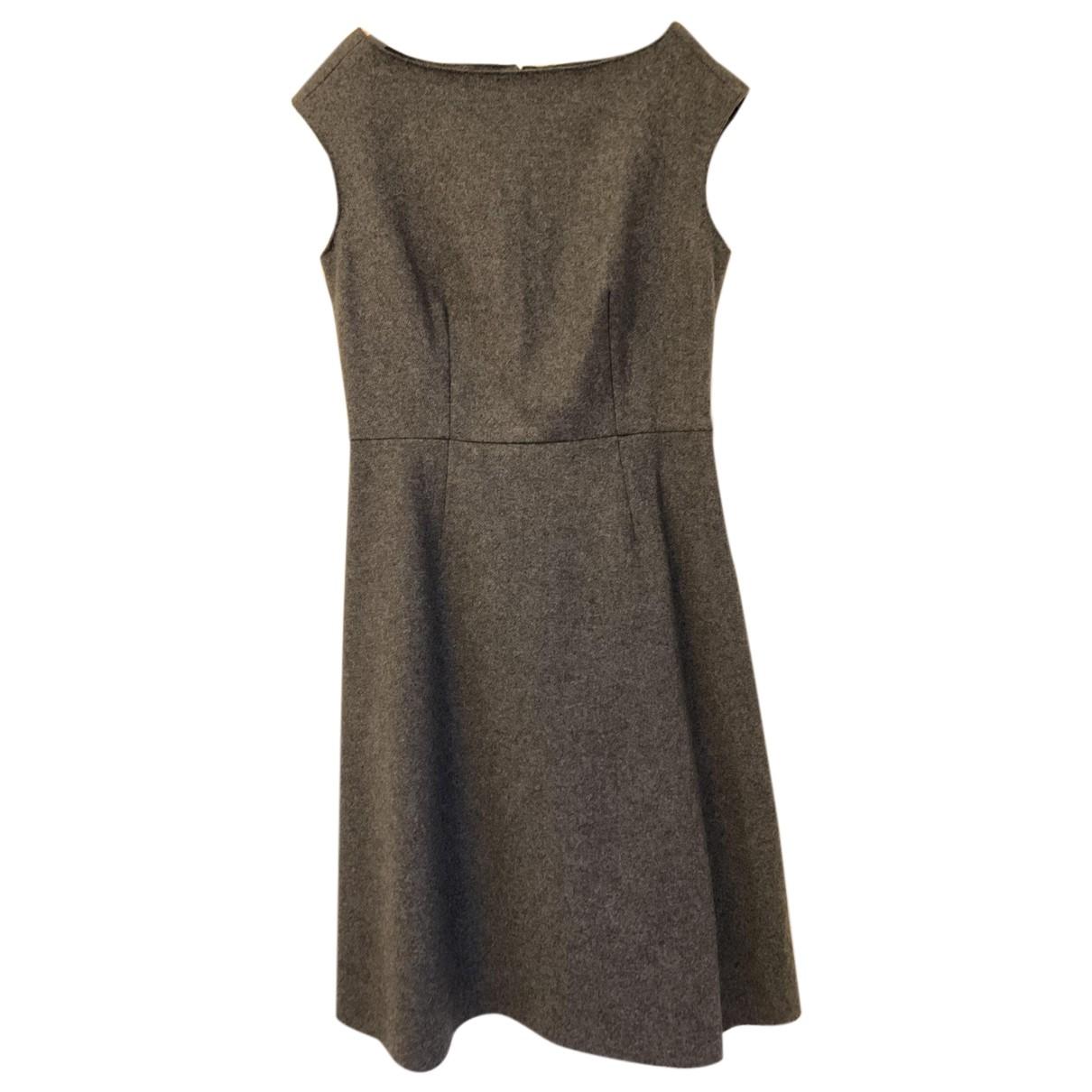 Innamorato \N Kleid in  Anthrazit Wolle