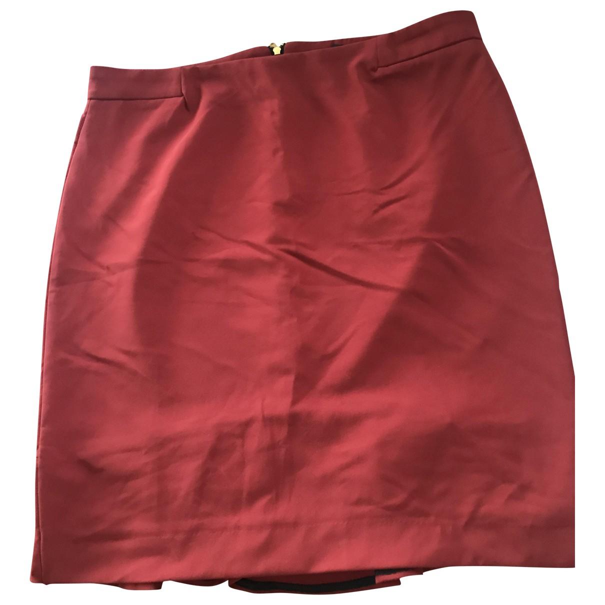 Zara \N Red skirt for Women XL International