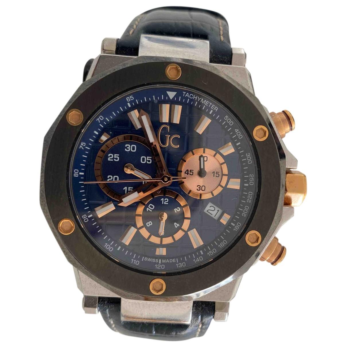 Guess N Blue Steel watch for Men N