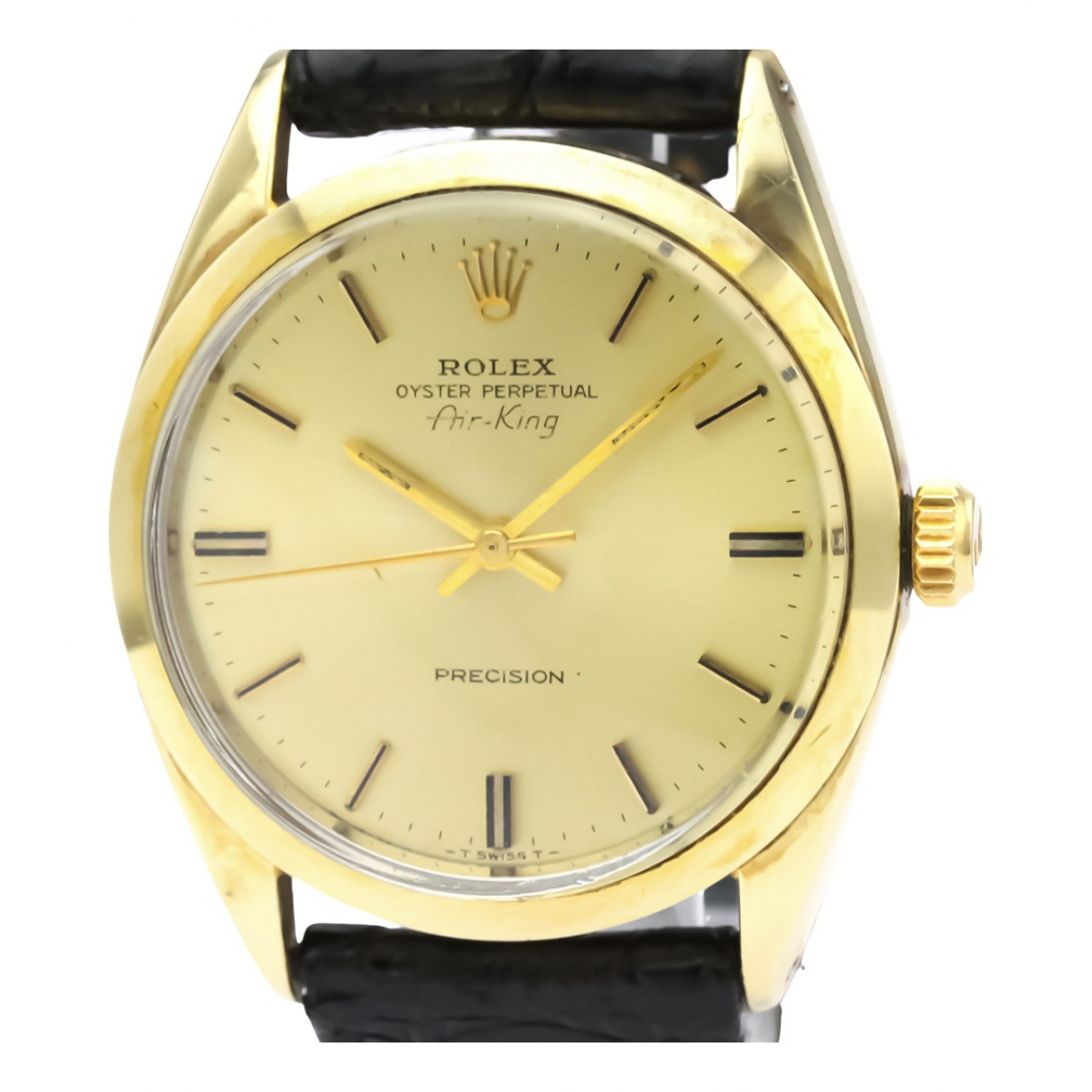 Rolex Air King Gold gold and steel watch for Men \N