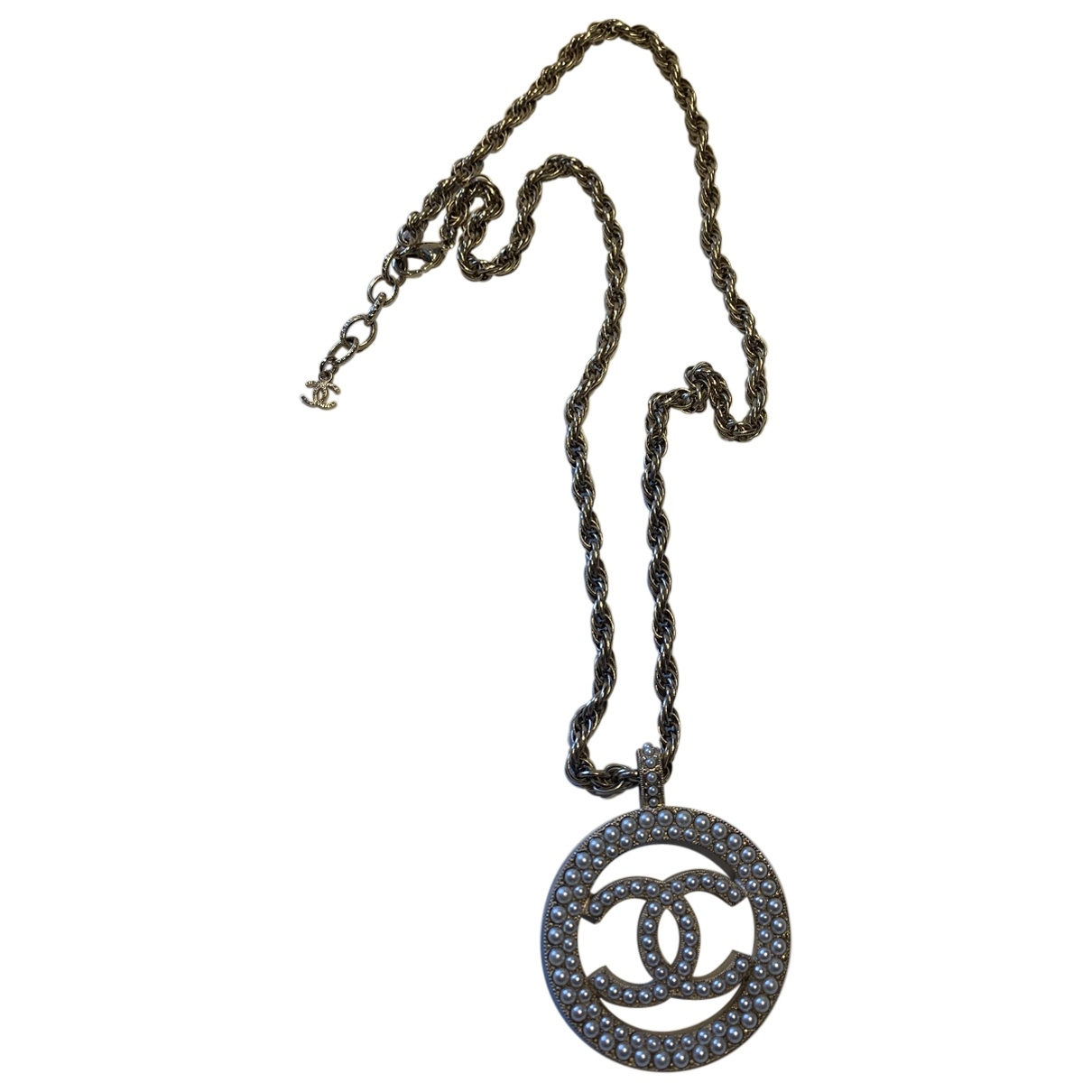 Chanel CC Kette in  Gold Metall