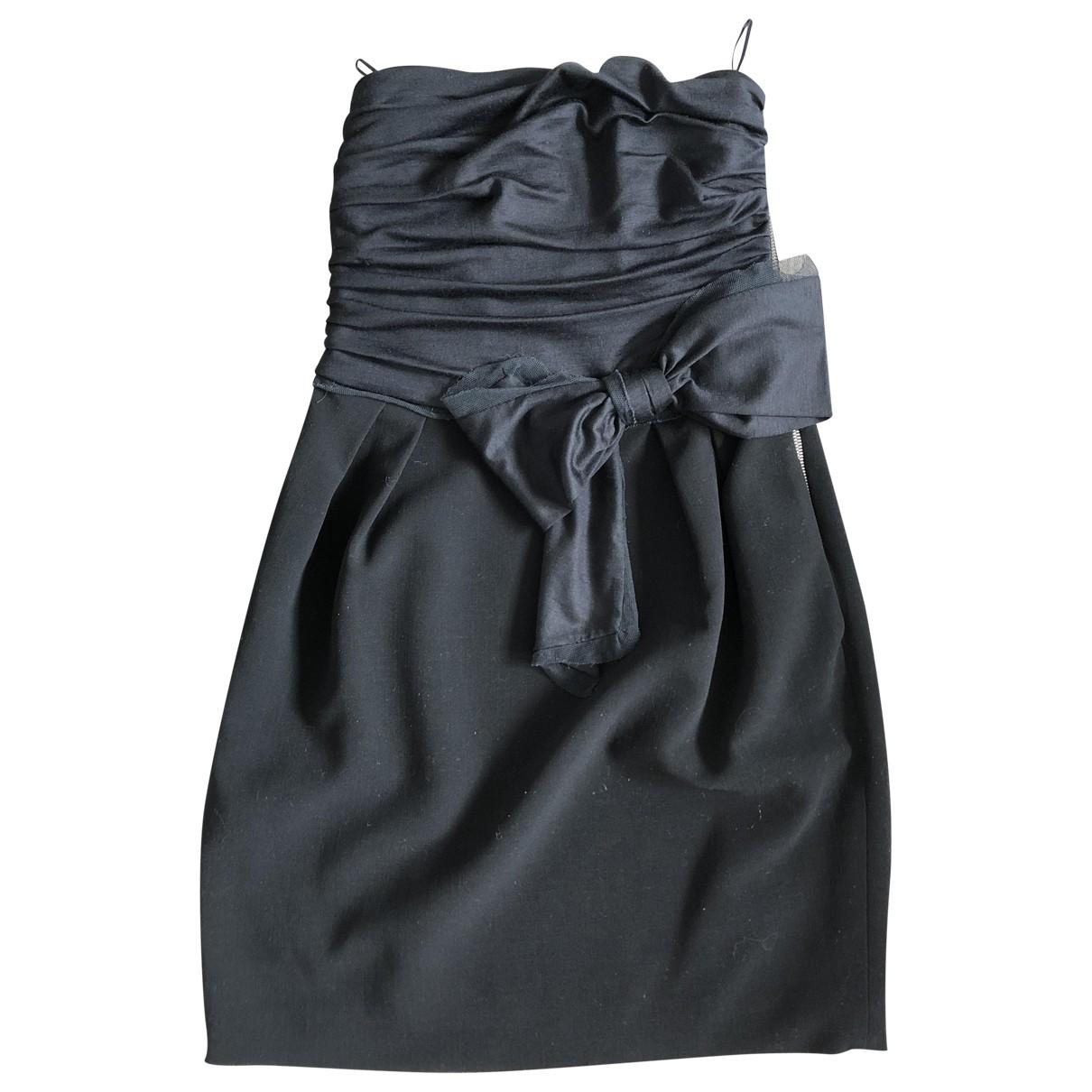 Emilio Pucci \N Black Wool dress for Women 38 FR