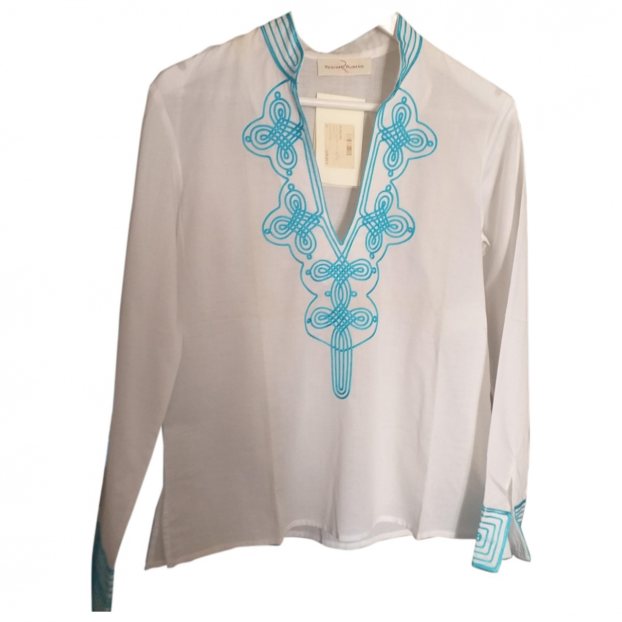 Regina Rubens \N White Cotton  top for Women 38 FR