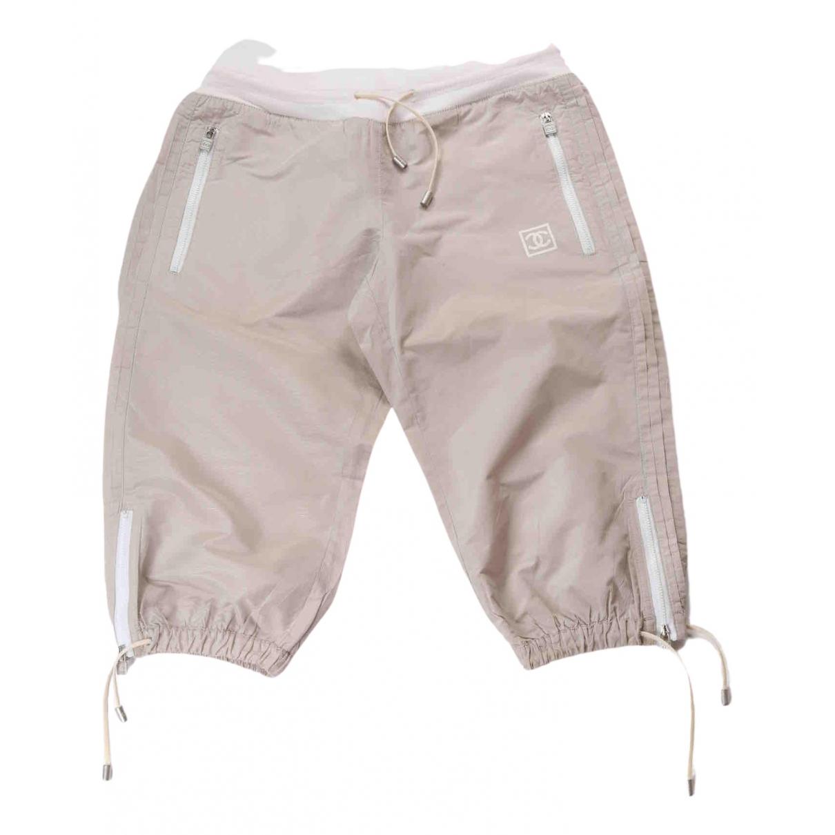 Chanel N Grey Shorts for Women 38 FR