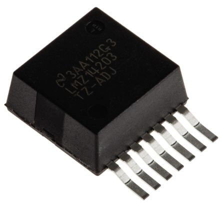Texas Instruments , LMZ14203TZ-ADJ/NOPB Step-Down Switching Regulator, 1-Channel 3A Adjustable 7-Pin, TO-PMOD