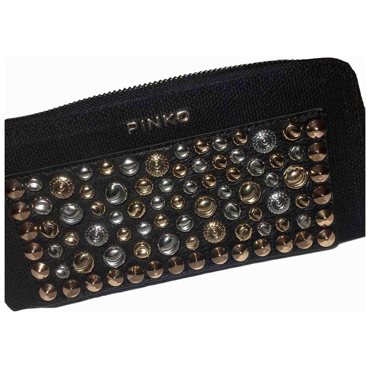 Pinko \N Black Cloth wallet for Women \N