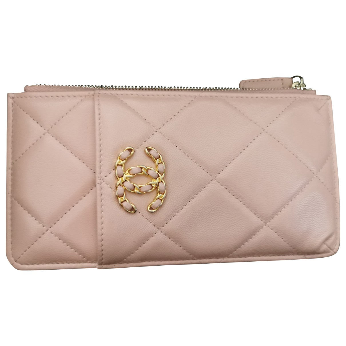 Chanel \N Beige Leather Purses, wallet & cases for Women \N