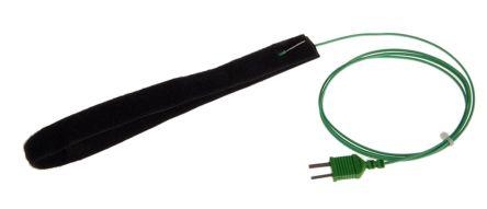 RS PRO Pipe thermocouple probe, Velcro