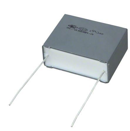 KEMET 100nF Polypropylene Capacitor PP 310V ac ±10% Tolerance Through Hole F863 Series (800)