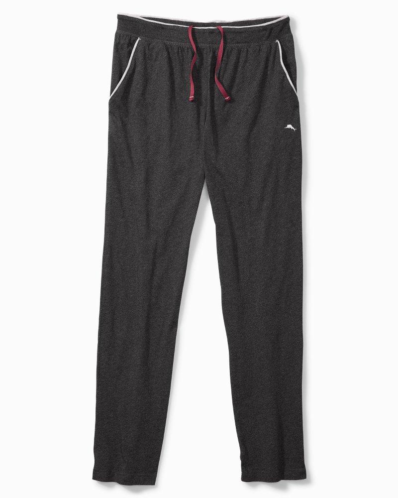 Big & Tall Heathered Cotton-Modal Lounge Pants