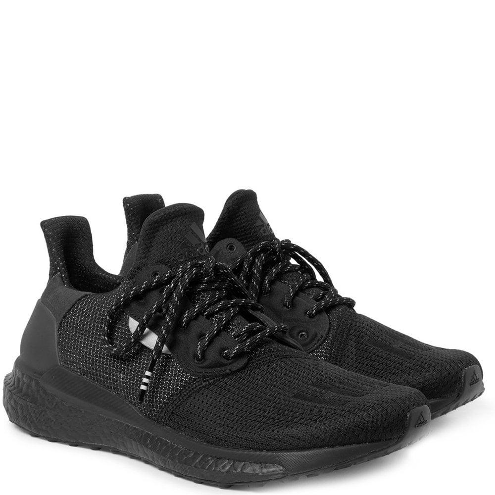 Adidas X Pharrell Williams Solar Hu Prd Trainers Colour: BLACK, Size: 7