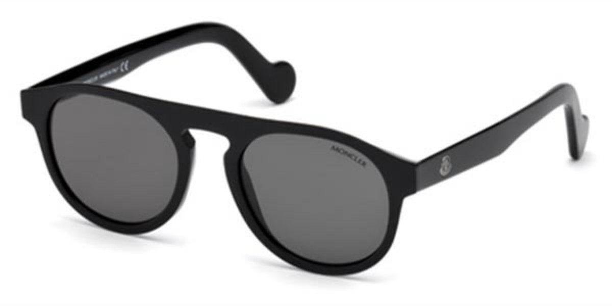 Moncler ML0073 01A Mens Sunglasses Black Size 51