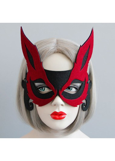 Mother's Day Gifts Halloween Red Fox Design Eye Mask - One Size