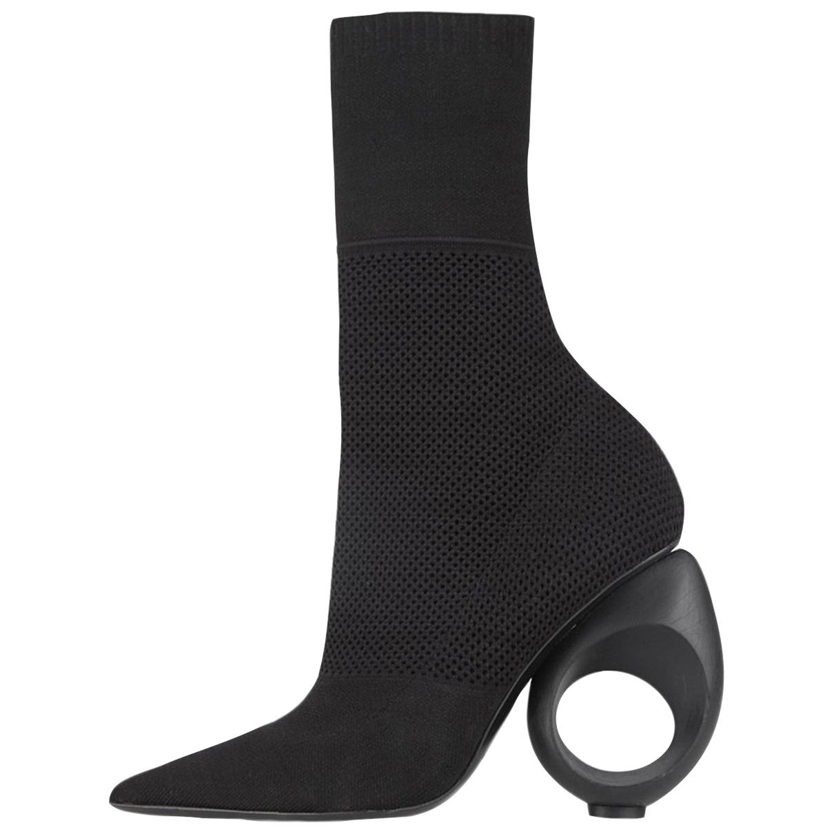 Burberry - Boots   pour femme - noir