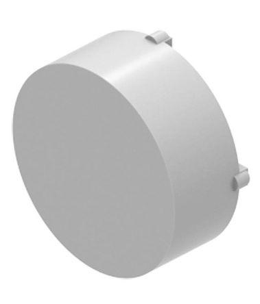 EAO Marking cap white raised D29 plastic tra (5)