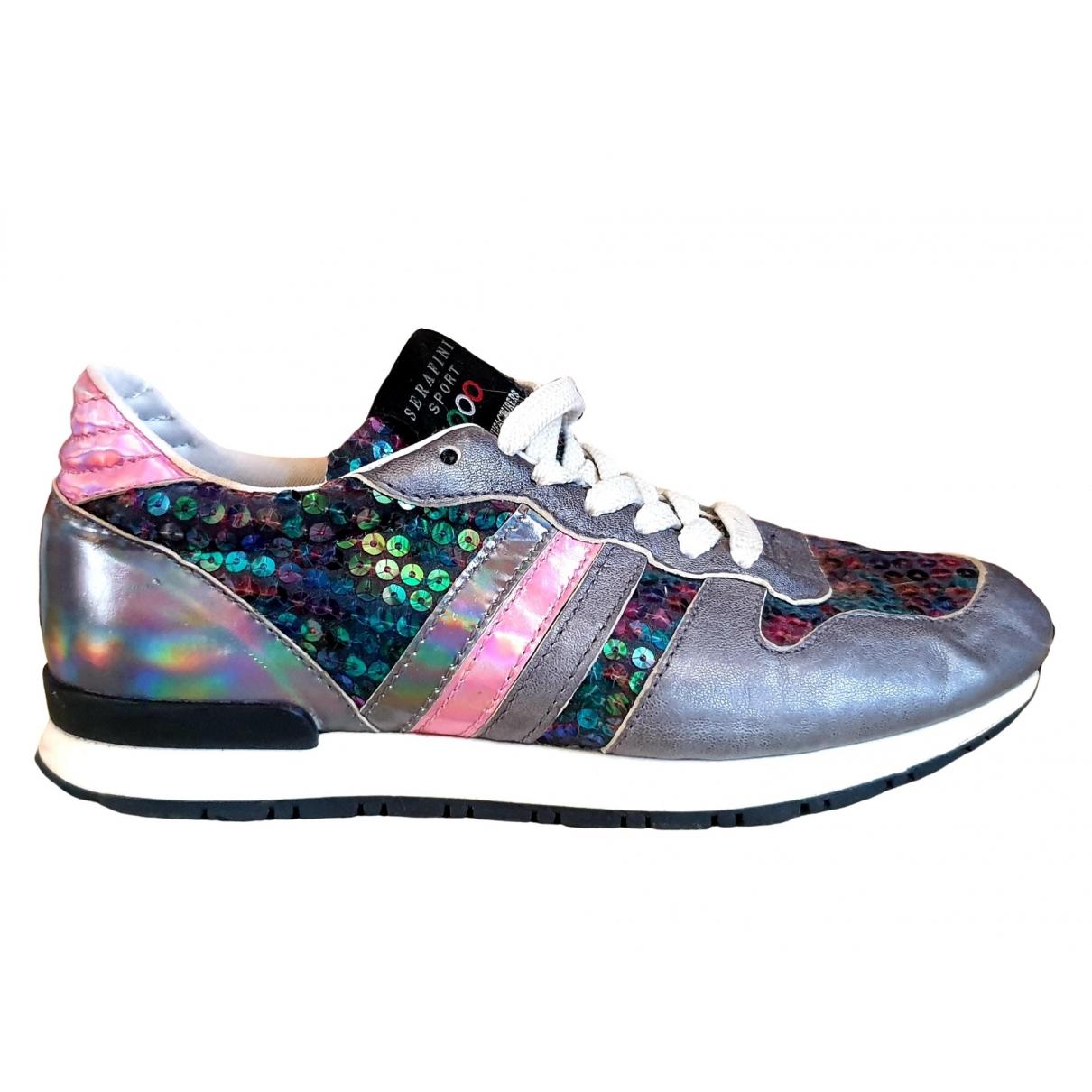 Serafini \N Sneakers in  Bunt Leder