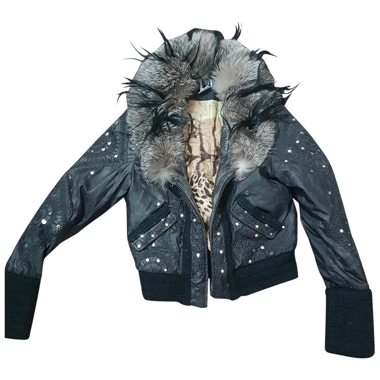 Roberto Cavalli \N Black jacket for Women 38 FR