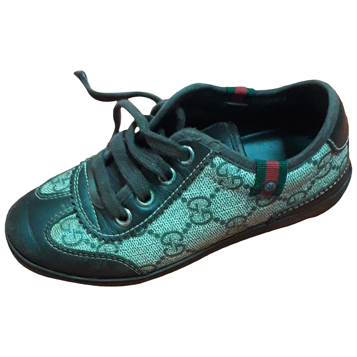 Gucci \N Brown Leather Trainers for Kids 27 EU