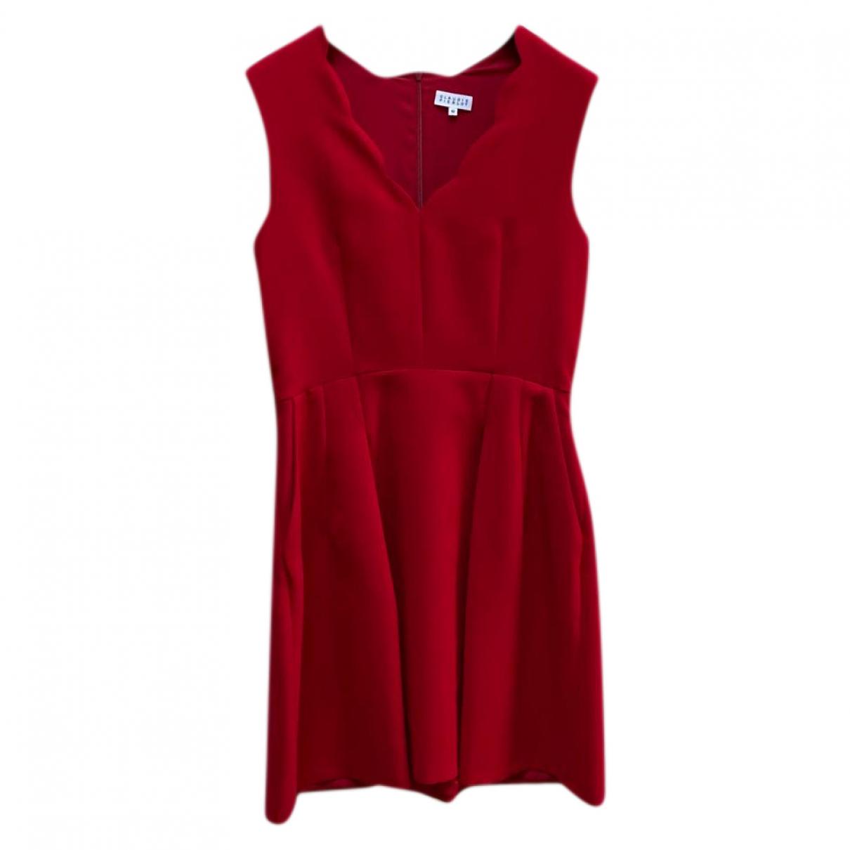 Claudie Pierlot \N Kleid in  Rot Viskose