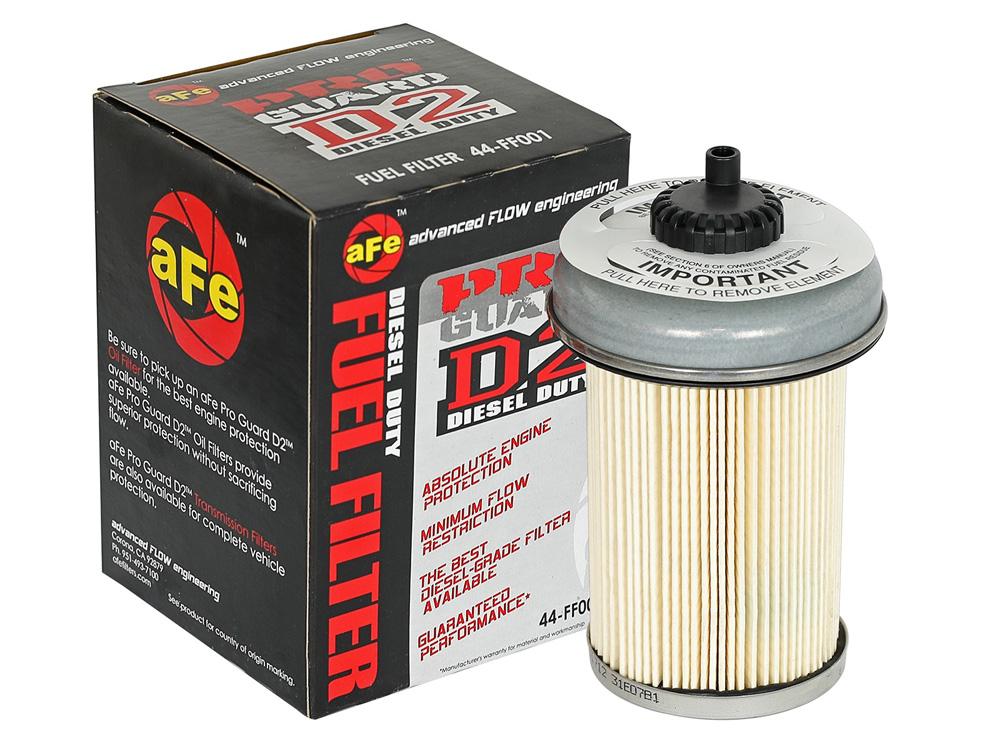 AFE 44-FF001 Pro GUARD D2 Fuel Filter GM Diesel Trucks 92-00 V8-6.2L/6.5L (td)