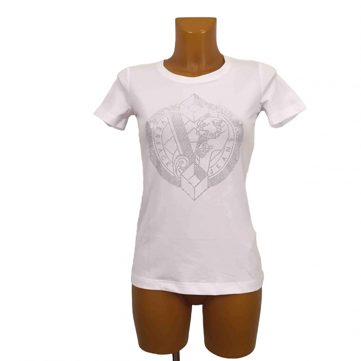 Versace Jeans \N White Cotton  top for Women XS International