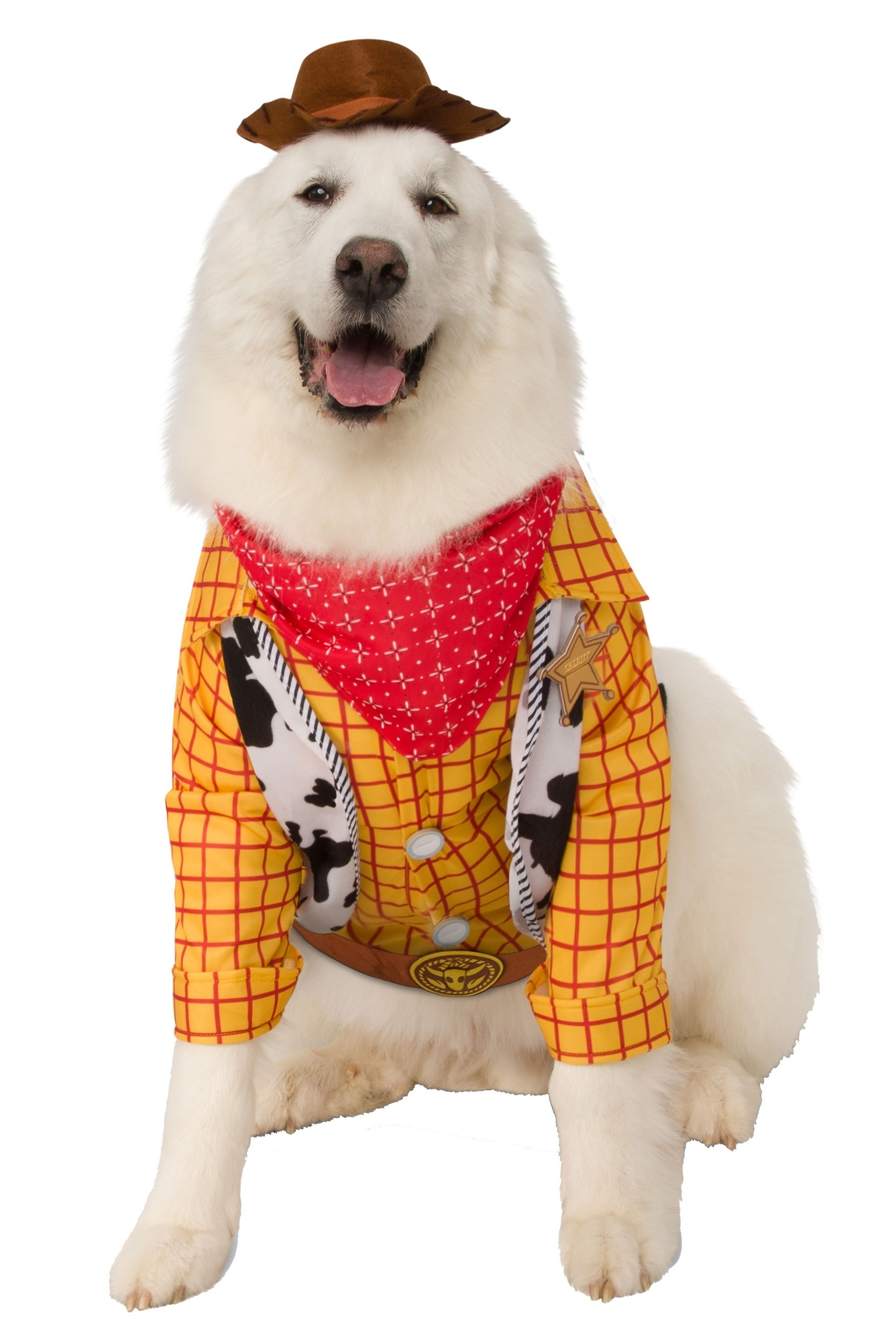 Toy Story Woody Plus Size Costume for Dogs