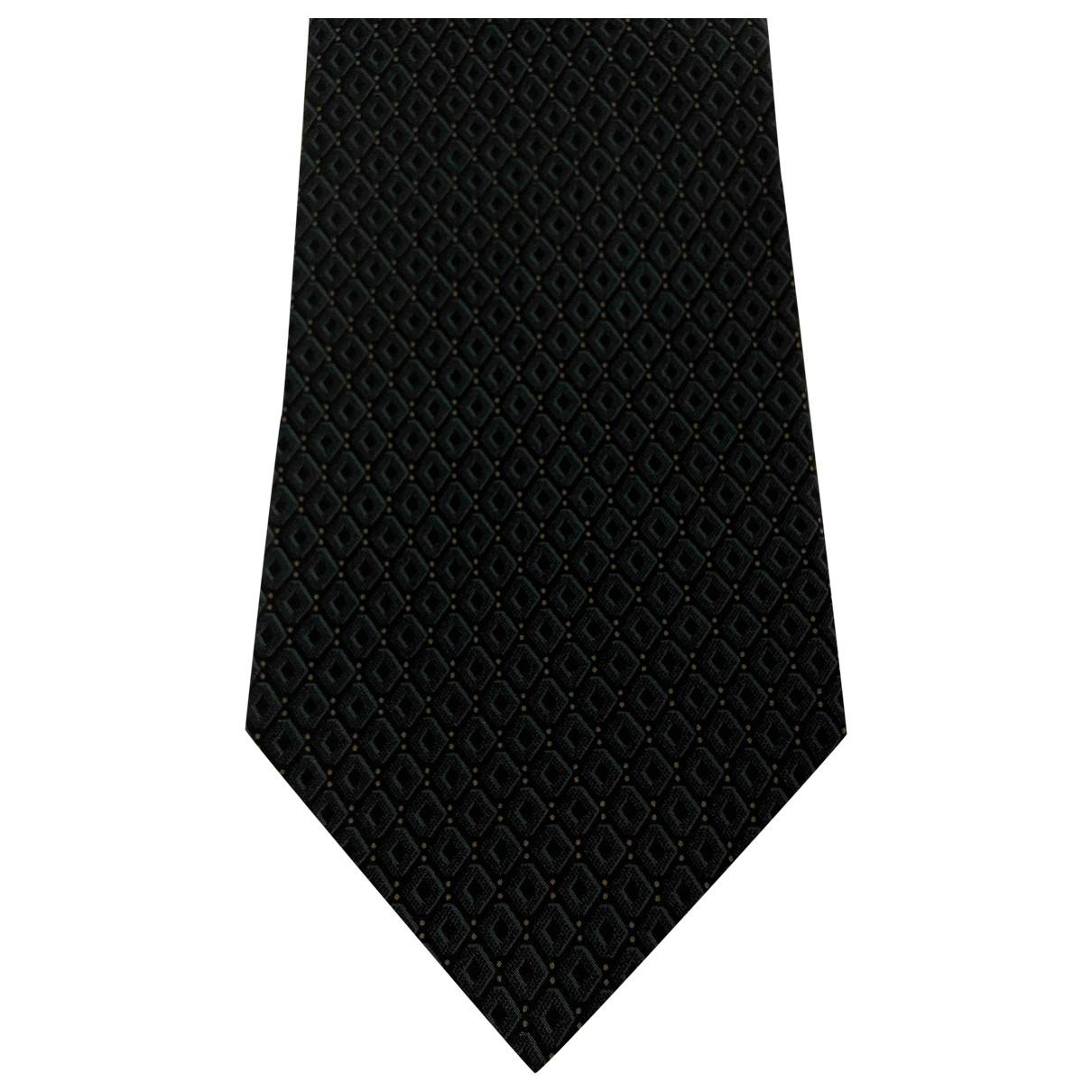 Giorgio Armani - Cravates   pour homme en soie - bleu
